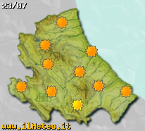 Previsioni meteo di domani sull'Abruzzo