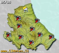 Previsioni meteo fra tre giorni sull'Abruzzo