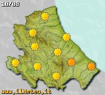 Previsioni meteo fra quattro giorni sull'Abruzzo