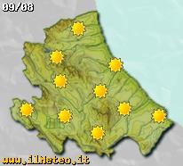 Previsioni meteo fra cinque giorni sull'Abruzzo