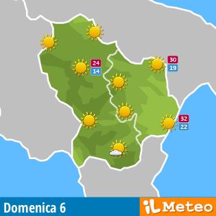 Previsioni Meteo Basilicata