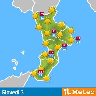 Meteo Calabria