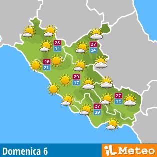 Previsioni Meteo Sant'Angelo Romano