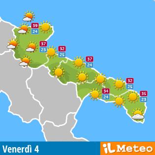 Meteo Puglia - Salento