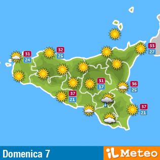 Meteo Sizilien