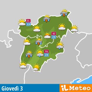 Meteo Trentino Alto Adige