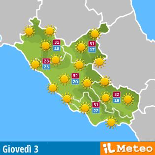 Meteo Lazio