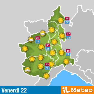 Vai alle previsioni ©ilMeteo.it localizzate per Gravellona Toce