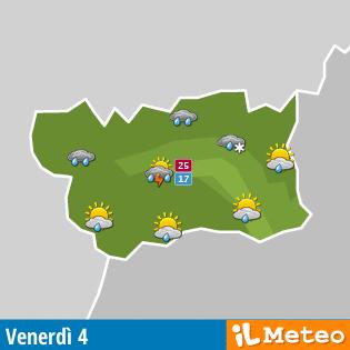 Meteo Valle d'Aosta
