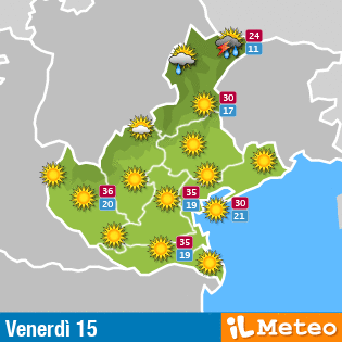 Click per vedere le previsioni su www.ilmeteo.it