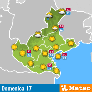 Meteo Piemonte Domani