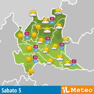 Meteo Lombardia dopodomani