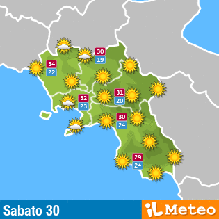 Meteo Campania