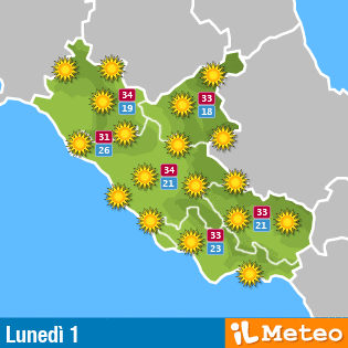 Meteo Lazio