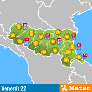 Meteo Emilia Romagna