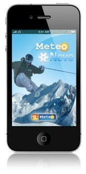 meteo neve iphone