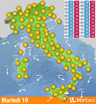 Previsioni Per DopoDomani - Click per Zoomare