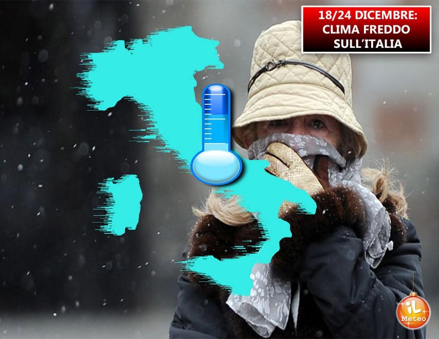 Settimana fredda sull'Italia