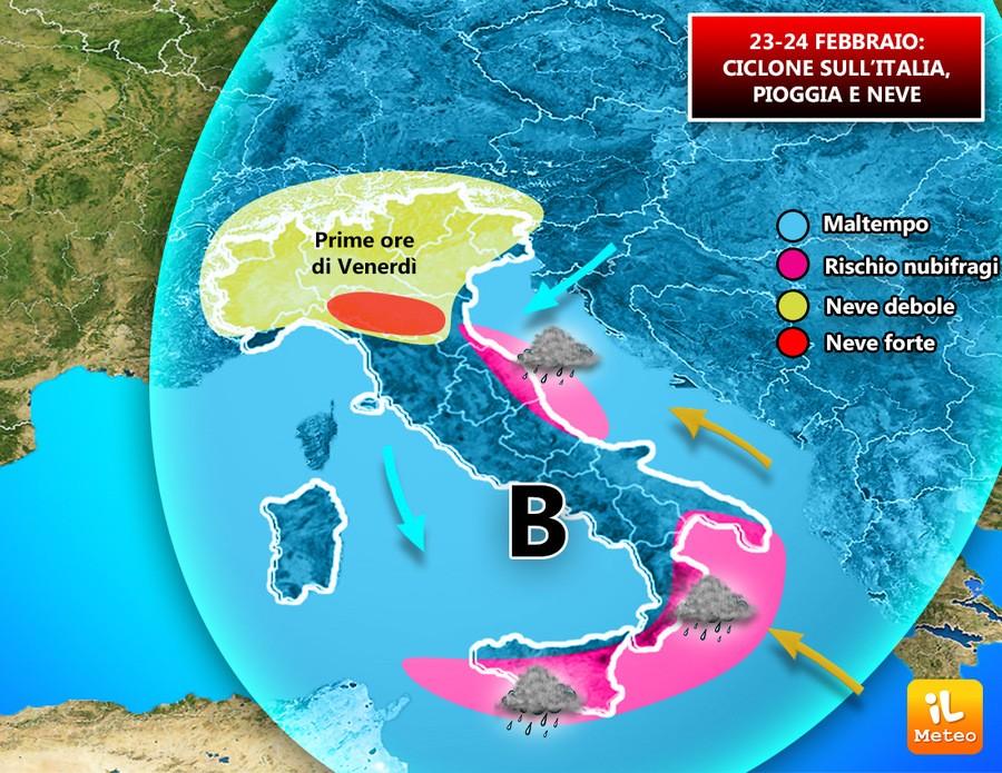 Italia nel maltempo