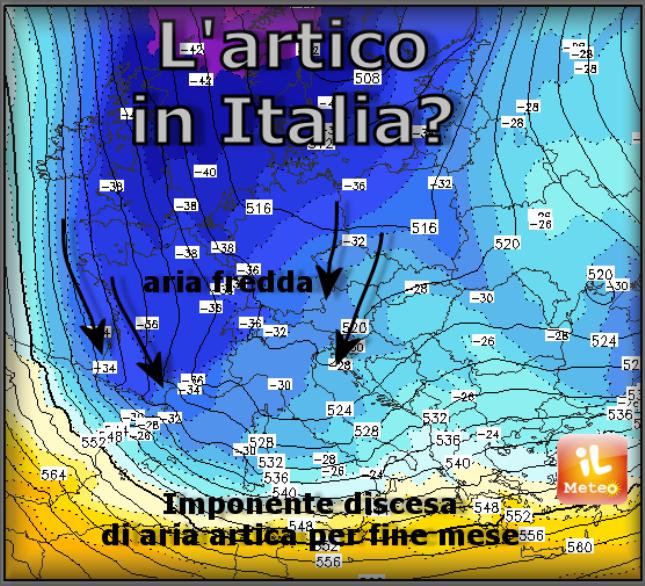A febbraio torna L'INVERNO gelido e NEVOSO!
