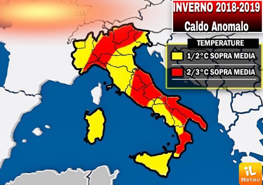Italia al caldo