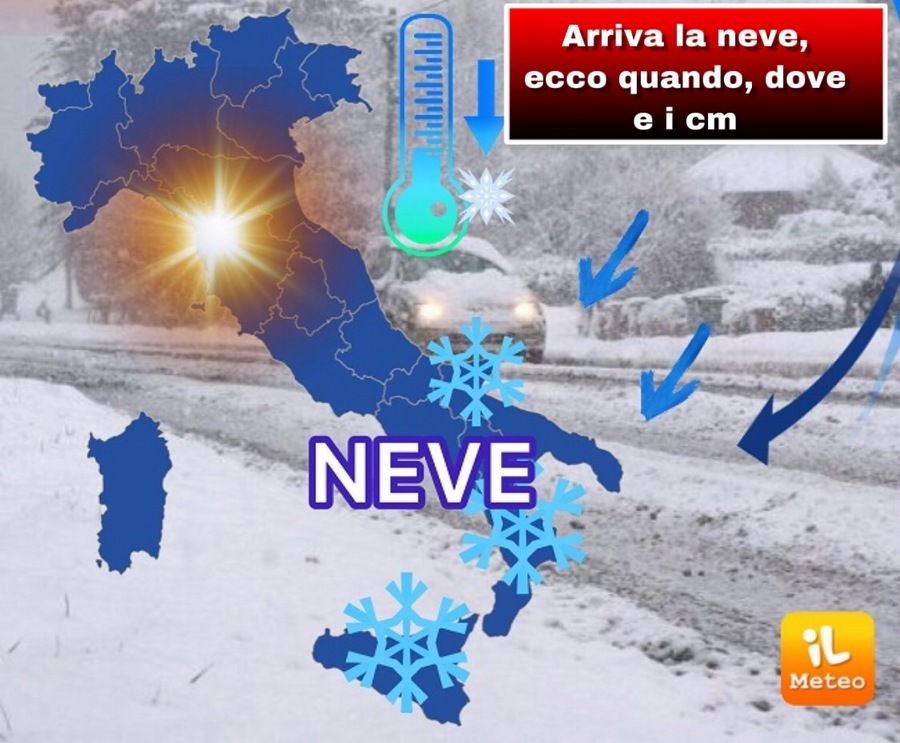 L'inverno si rifà vivo a Centrosud, weekend con freddo e neve
