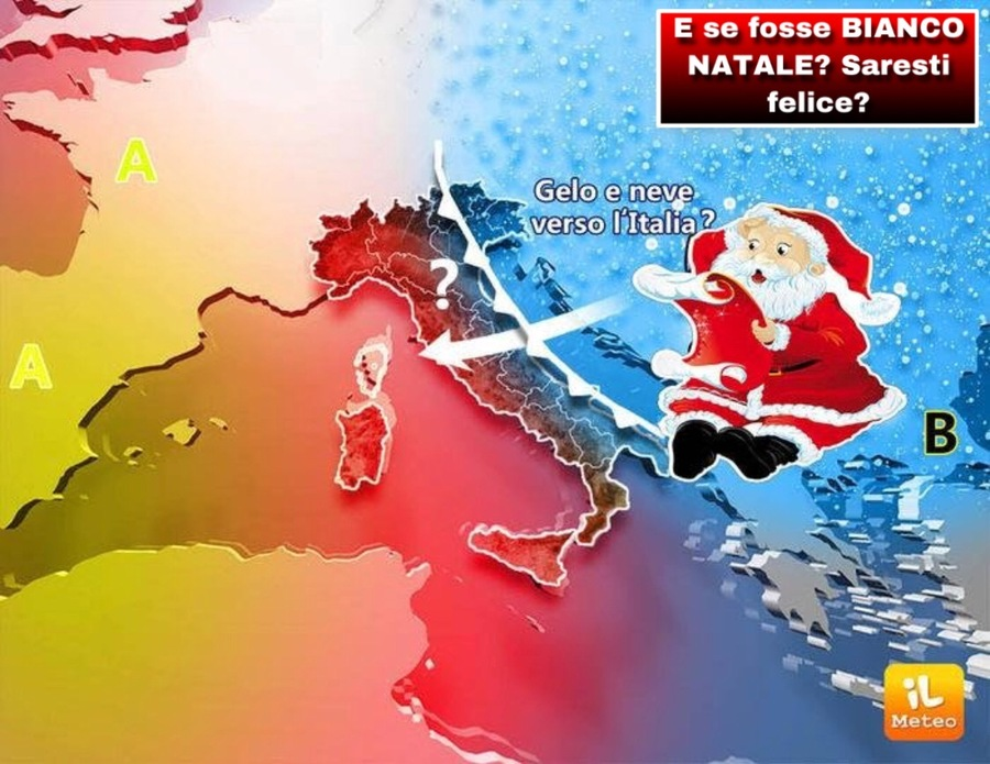 Immagini Prima Di Natale.Meteo Partenza Calda Ma Poi Neve Gia Prima Di Natale