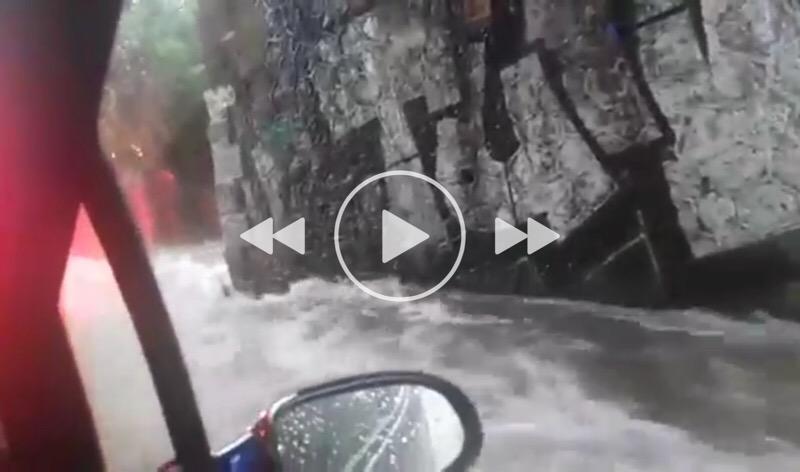 Atene alle prese con le alluvioni 29 luglio 2018