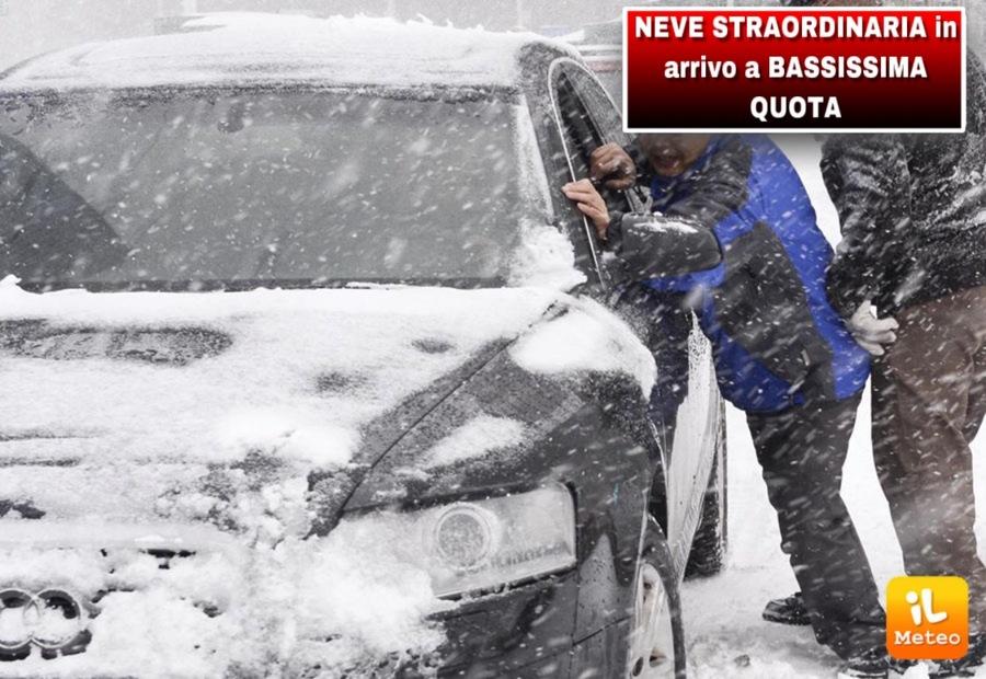 Meteo, temporali e nevicate sullo Stivale