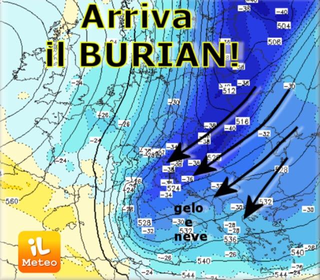 Arriva il BURIAN o BURAN?