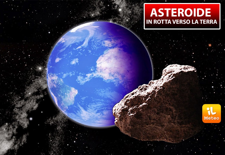 Asteroide in possibile rotta di collisione con la Terra