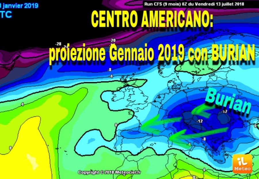 Meteo Centro Americano Emette Le Proiezioni Per Inverno In Italia