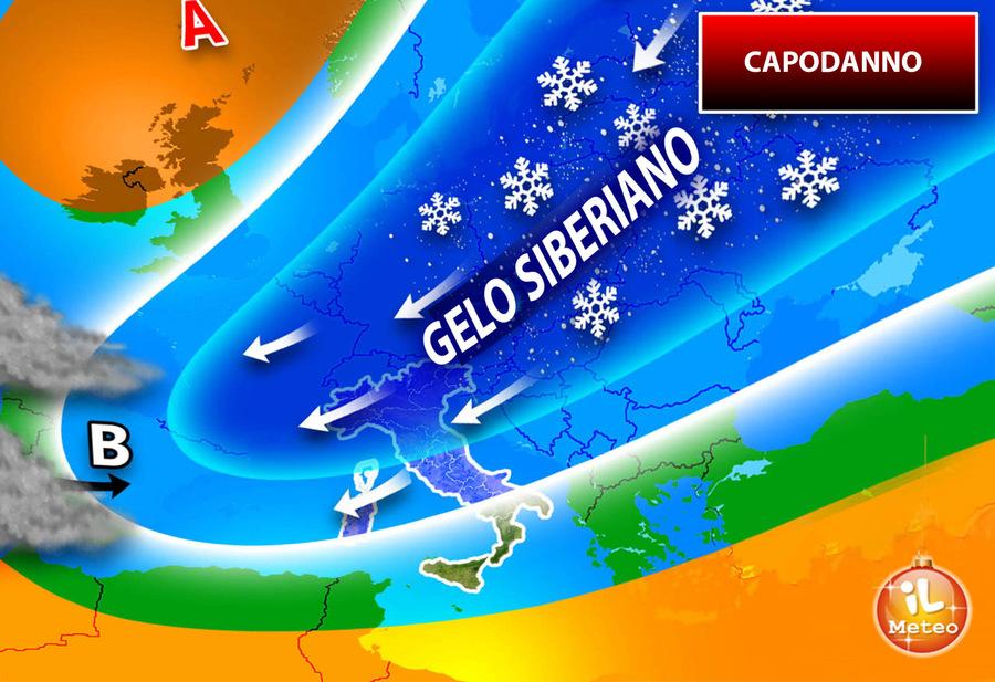 Meteo -- NEVE ABBONDANTE IN ARRIVO sulle Alpi, a seguire fiocchi anche sull'Appennino