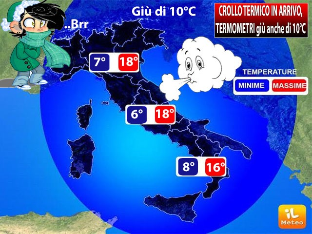 Meteo Roma: Le previsioni per sabato 20 ottobre