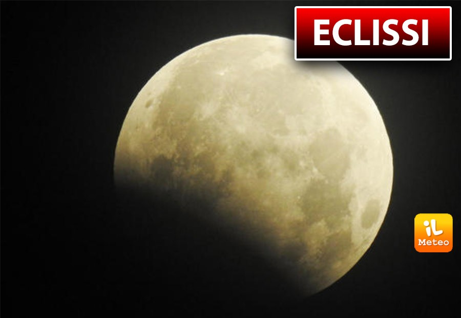 The show of the lunar eclipse on Tuesday evening, July 16.