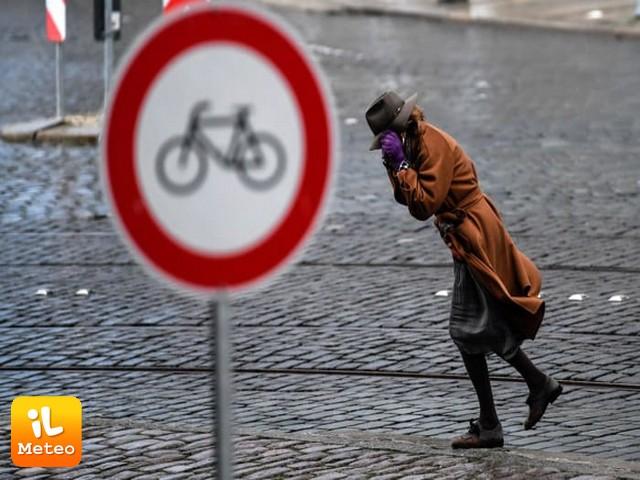 La TEMPESTA FRIEDERIKE si abbatte sul Nord Europa