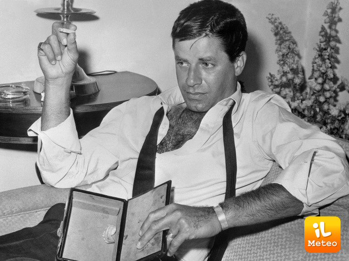 L'attore Jerry Lewis