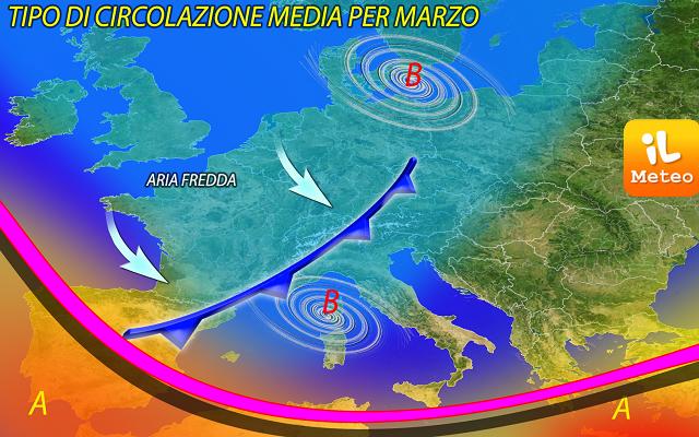 Meteo, 24 ore di maltempo con il ciclone Davide: tanta neve