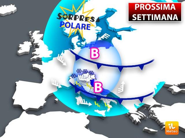 Prossima Settimana con Sorpresa Polare