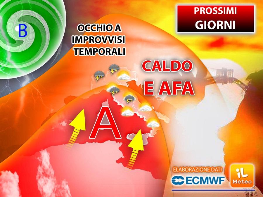 Meteo Sicilia: caldo africano con picchi fino a 40 gradi
