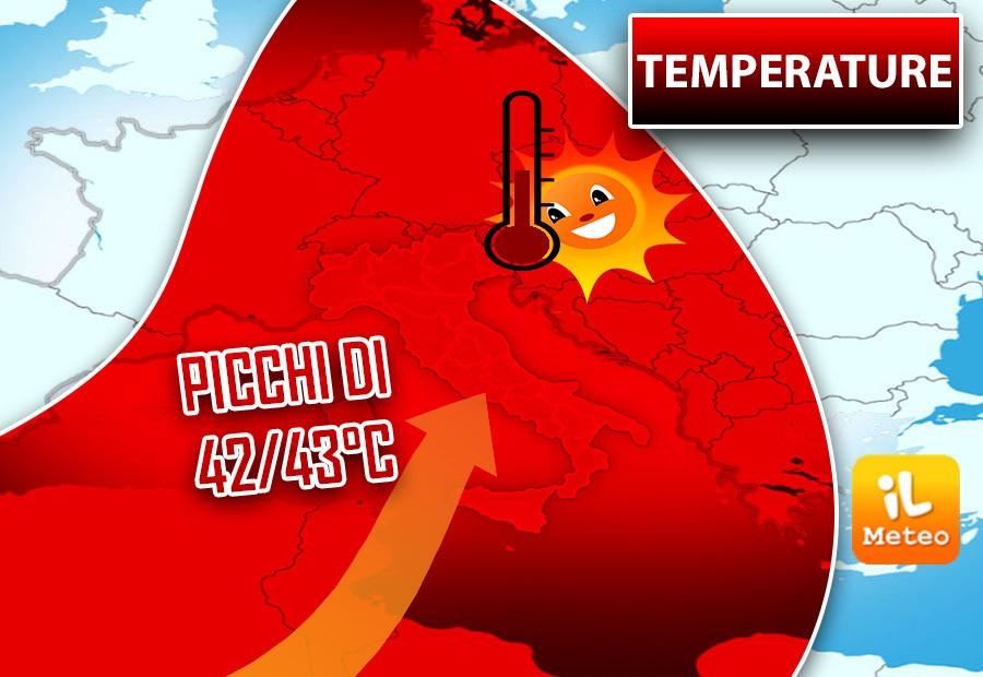 Meteo, arriva il caldo torrido: la settimana sarà bollente