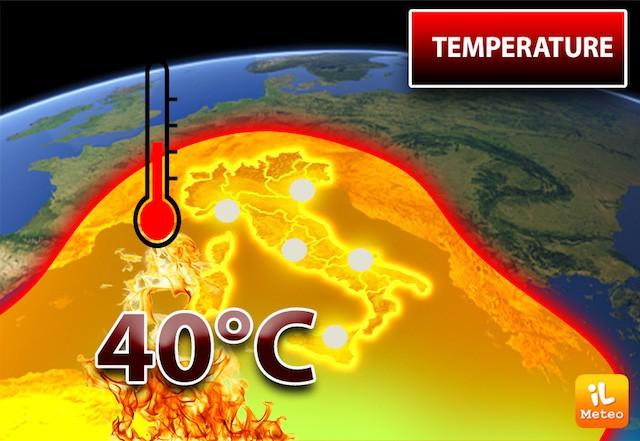 Incubo caldo nei prossimi giorni