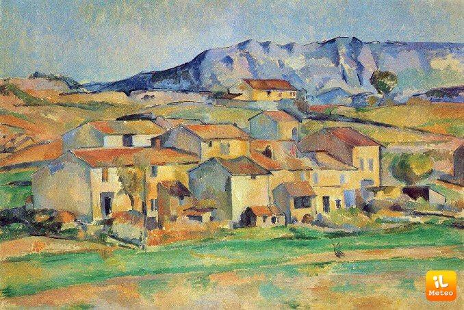 Un quadro di Paul Cezanne