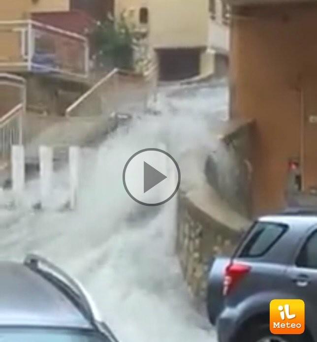 Maltempo: allerta arancione su Basilicata,Sicilia e Calabria