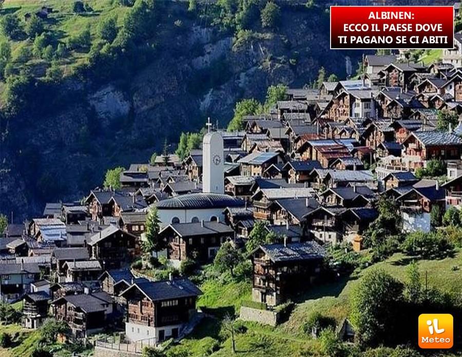 ALBINEN: ecco il paese dove ti pagano se ci abiti
