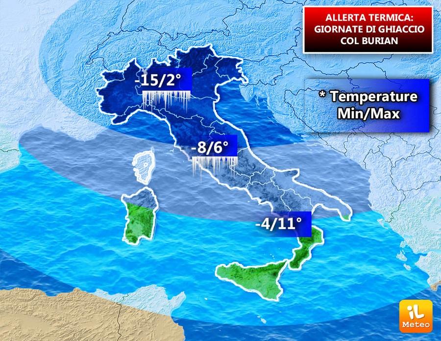 Italia nel freezer