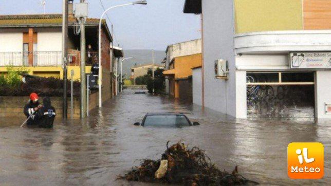 Immagini terribili dell'alluvione