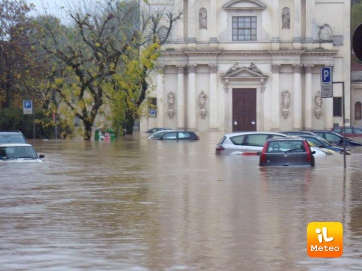 Vicenza sott'acqua, era il 2010