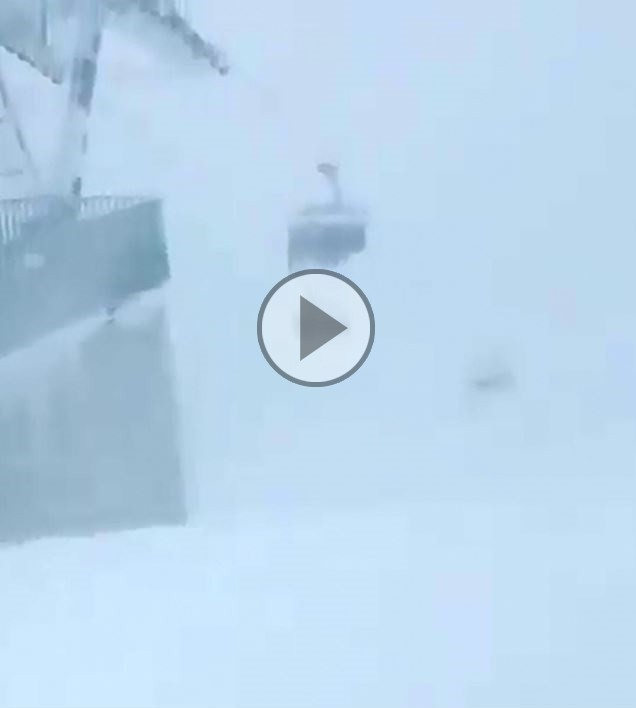 Austria, abbondanti nevicate in tutto il Paese.