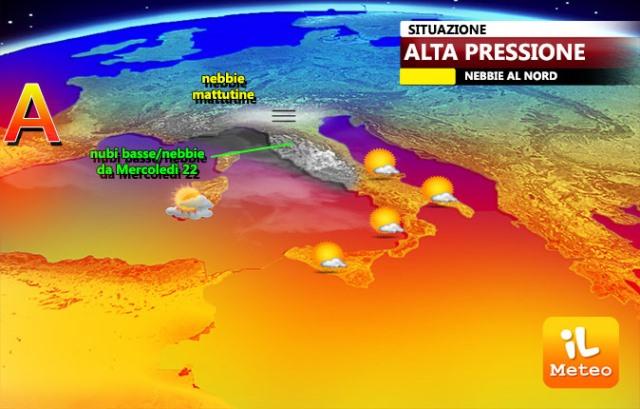 Italia nell'alta pressione